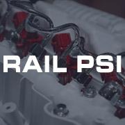 Rail Pressure PSI Gauges