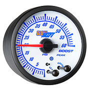 GlowShift White Elite 10 Color Gauge Series
