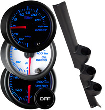 2006-2008 Honda Civic Sedan Custom 7 Color Gauge Package Gallery