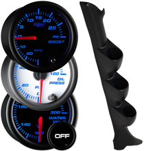 1995-2002 Pontiac Sunfire Coupe Custom 7 Color Gauge Package Gallery