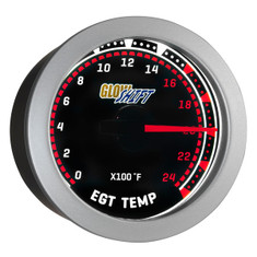 Tinted 2400° F Exhaust Gas Temperature Gauge