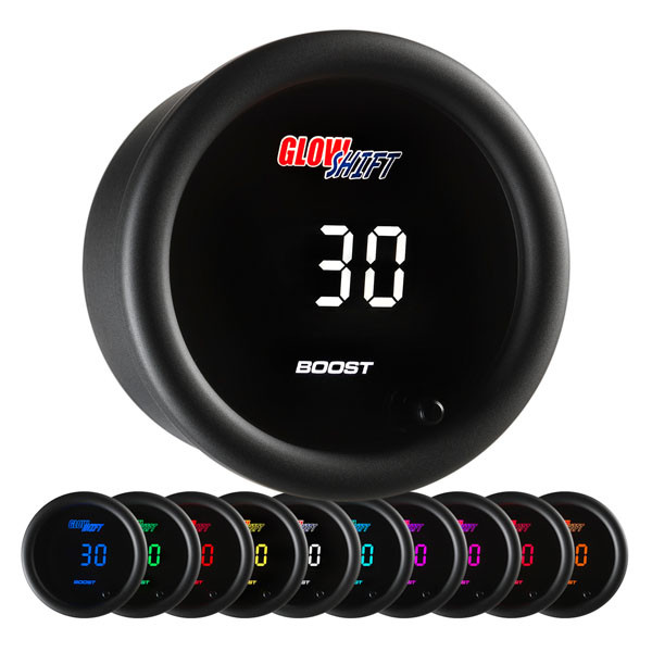 10 Color Digital Boost/Vacuum Gauge
