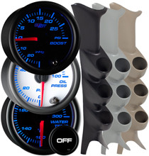1999-2007 Ford Super Duty Power Stroke Custom 7 Color Gauge Package Gallery