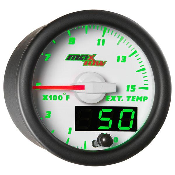 White & Green MaxTow 1500° F Pyrometer EGT Gauge