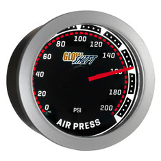 Tinted 200 PSI Air Pressure Gauge