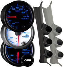 2004-2009 Mazda 3 Custom 7 Color Gauge Package Gallery