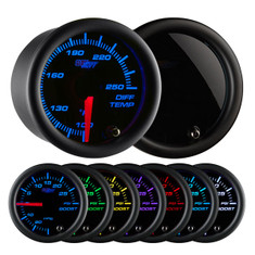 Tinted 7 Color Differential Temperature Gauge