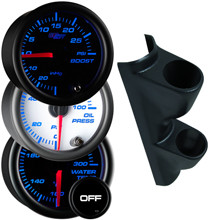 1995-1998 GMC Sierra C/K Full Size Truck Custom Dual 7 Color Gauge Package Thumb