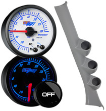 2006-2011 Honda Civic Coupe Custom Elite Gauge Package Gallery