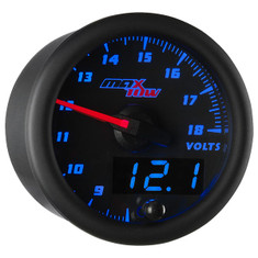Black & Blue MaxTow Volt Gauge