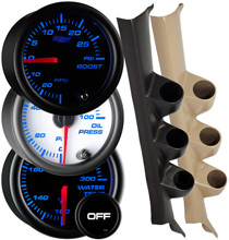 2002-2008 Mazda 6 Custom 7 Color Gauge Package Gallery