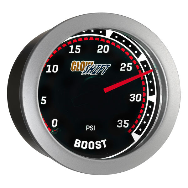 Tinted 35 PSI Boost Gauge