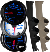 2000-2005 Dodge Neon & SRT-4 Custom 7 Color Gauge Package Gallery
