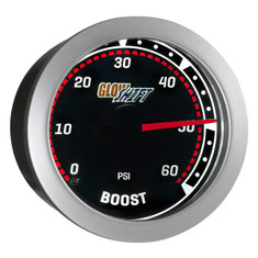 Tinted 60 PSI Boost Gauge