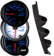 1999-2005 Volkswagen Jetta Custom 7 Color Gauge Package Gallery