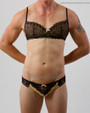Sandra Panty shown here with the Sandra Bra (sold separately)