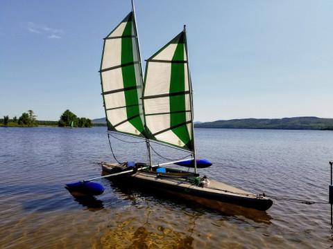 Sails Angels Cupsuptic Lake
