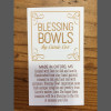 Blessing Bowls by Carrie Cox