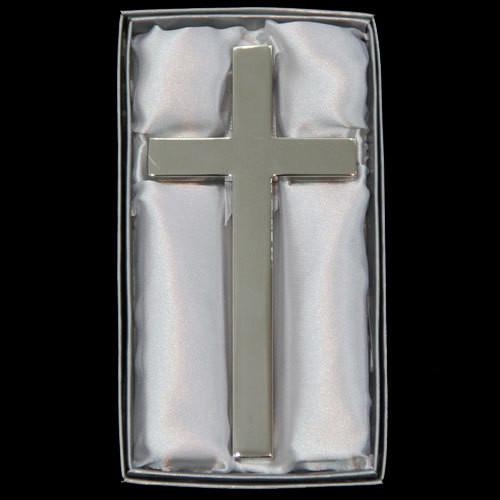 Silver Wall Cross