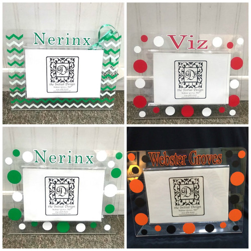 Pick Your School Acrylic Frame