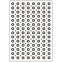 Darice A2 Embossing Folder - Circles Background