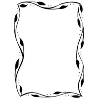 Darice A2 Embossing Folder - Leafy Vine
