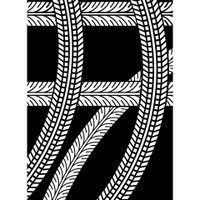 Darice A2 Embossing Folder - Tire Tracks