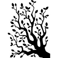 Darice A2 Embossing Folder - Tree Branches