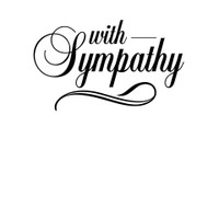 Darice A2 Embossing Folder - With Sympathy