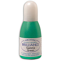 Brilliance Re-Inker - Gamma Green