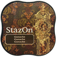 StazOn Permanent Mini Ink Pad - Ganache