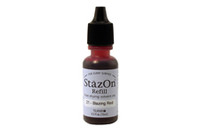 StazOn Permanent Re-Inker - Blazing Red