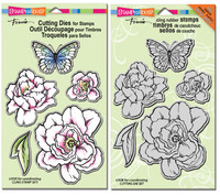 Stampendous Cling Stamps and Dies Bundle - Lovely Garden Set