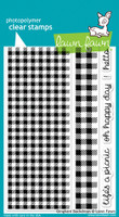 Lawn Fawn Stamps - Gingham Backdrops
