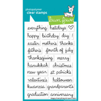 Lawn Fawn Stamps - Happy Everything