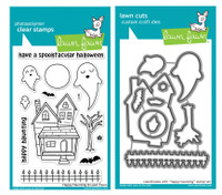 Lawn Fawn Stamps & Dies Bundle - Happy Haunting