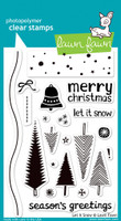 Lawn Fawn Stamps - Let It Snow