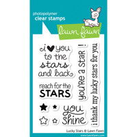 Lawn Fawn Stamps - Lucky Stars