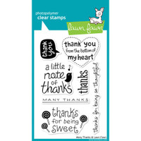 Lawn Fawn Stamps - Many Thanks
