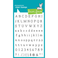 Lawn Fawn Stamps - Smitty's ABCs