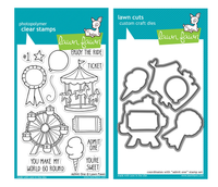 Lawn Fawn Stamps & Dies Bundle - Admit One