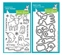 Lawn Fawn Stamps & Dies Bundle - Critters In The Arctic