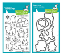Lawn Fawn Stamps & Dies Bundle - Critters In The Snow