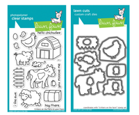 Lawn Fawn Stamps & Dies Bundle - Critters On The Farm