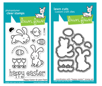 Lawn Fawn Stamps & Dies Bundle - Happy Easter