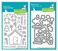 Lawn Fawn Stamps & Dies Bundle - Sweet Christmas