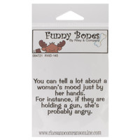 Funny Bones Cling Stamps - A Woman's Mood