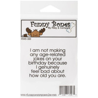 Funny Bones Cling Stamps - Age-Related Jokes