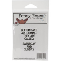 Funny Bones Cling Stamps - Better Days