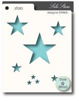 Memory Box Stencils - Solo Stars
